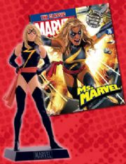Classic Marvel Figurine Collection #076 Ms. Marvel Eaglemoss Publications